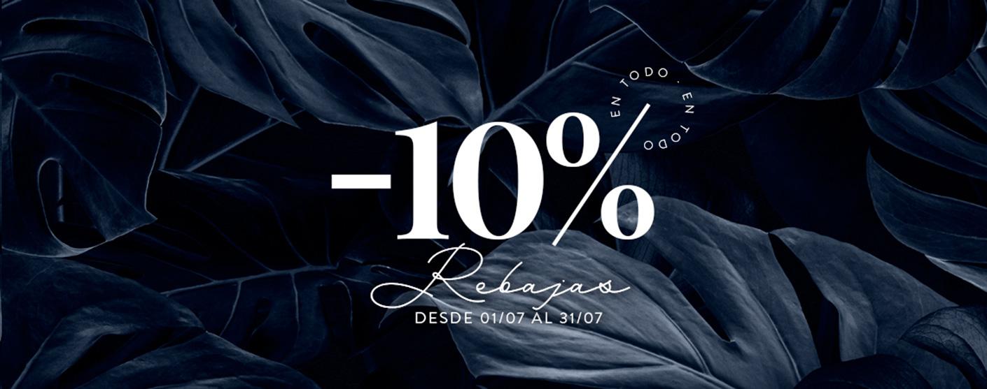 Rebajas 10%!