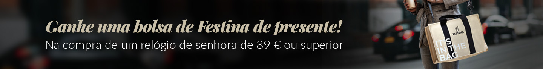 Bolsa Festina por compra superior a 89 euros.