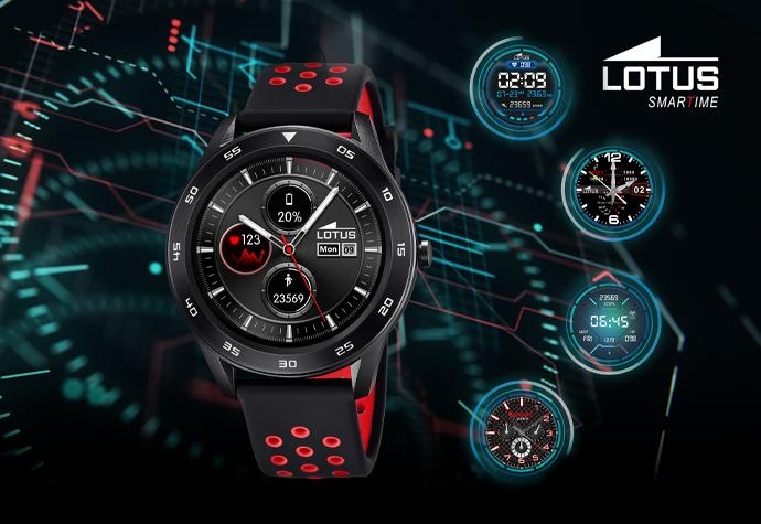 Lotus men's smartwatch collection